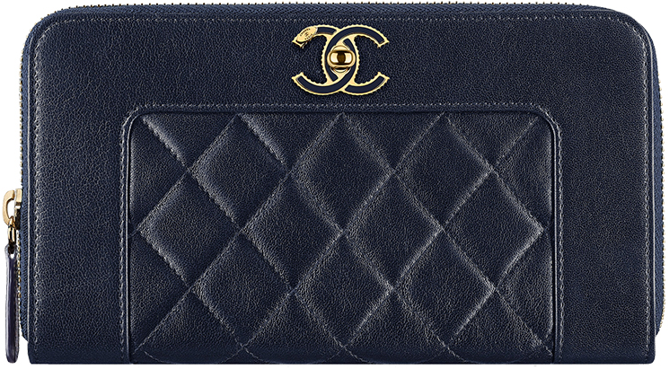 Chanel-Paris-in-Rome-Zipped-wallet