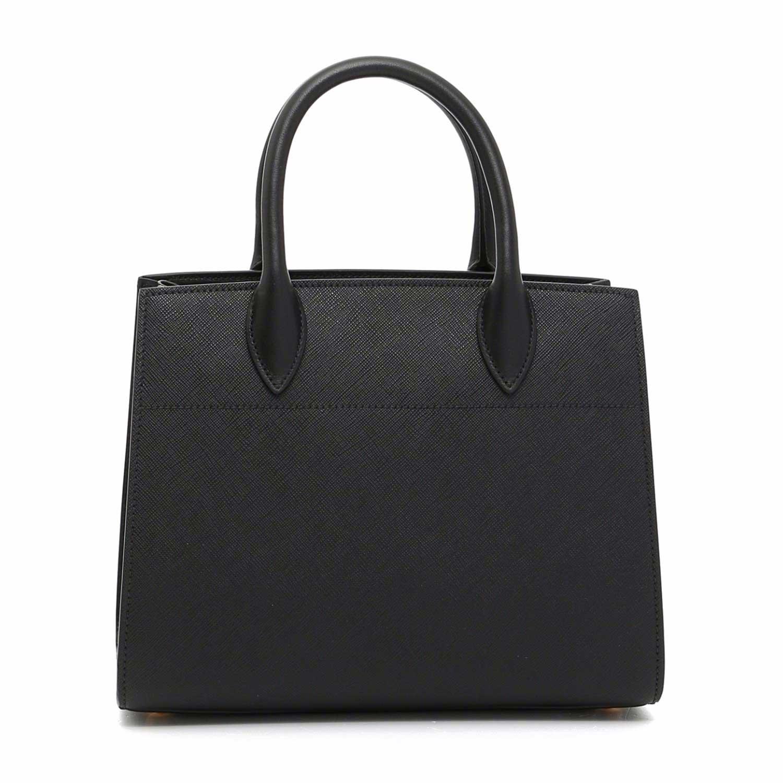 Prada Saffiano & City Calf Leather Bibliothèque women's ...