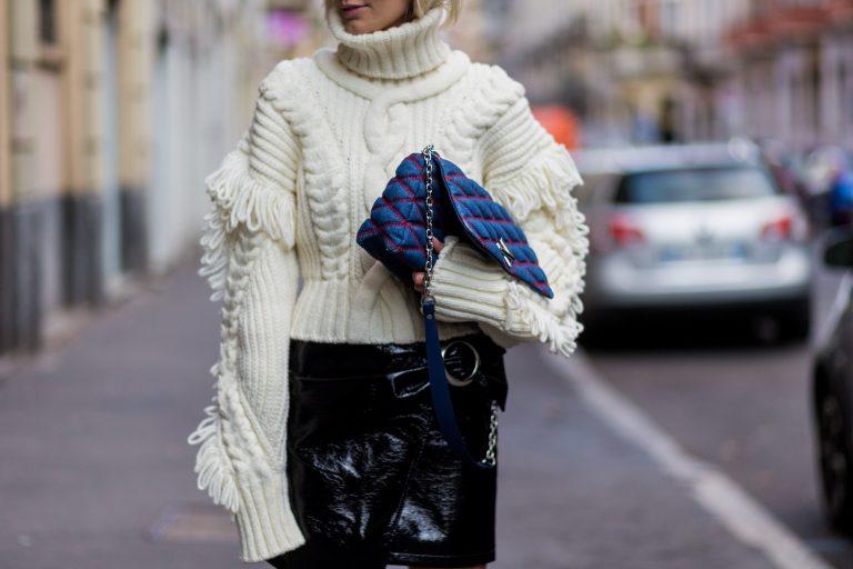 street style designer handbag