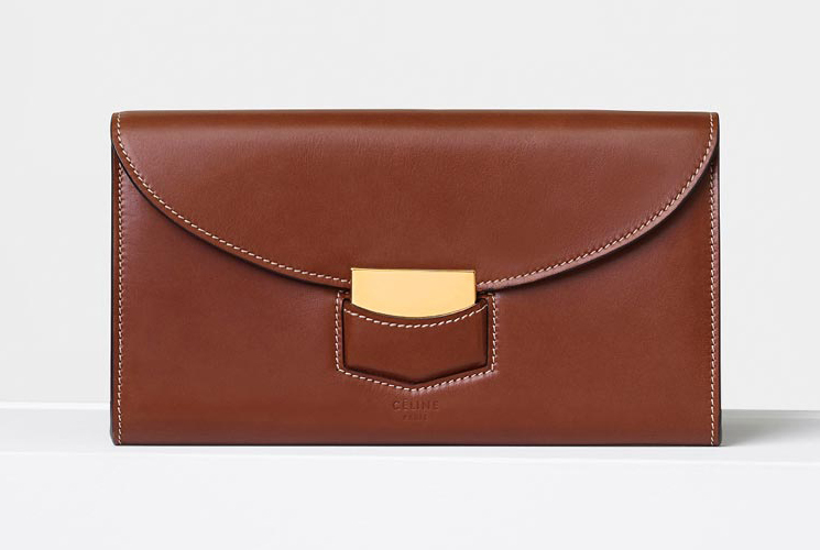 High Quality Fake Cheap Chic Celine Trotteur Large Flap Multifunction Wallets