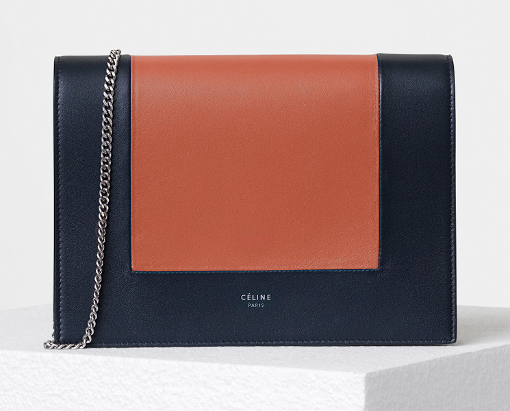 High Quality Replica Cheap Celine Frame Evening Clutch on Chain