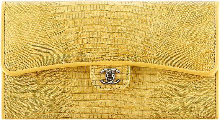 High Quality Replica Chanel Lizard Flap Wallet For Sale