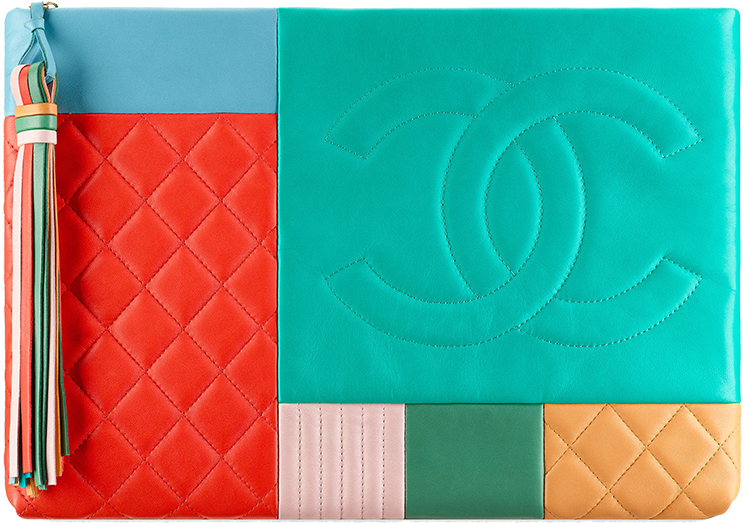 Chanel High Quality Replica Quilted Patchwork Pouches For Sale