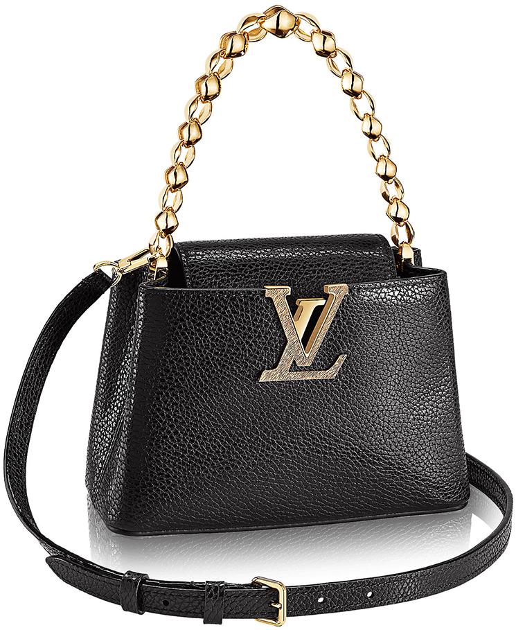 New: High Quality Replica Cheap Louis Vuitton Capucines Chain Bag