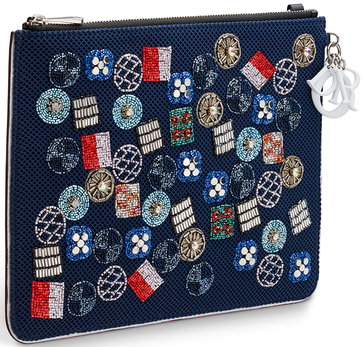 High Quality Replica Cheap Dior Flat Stardust Pouches with Chain