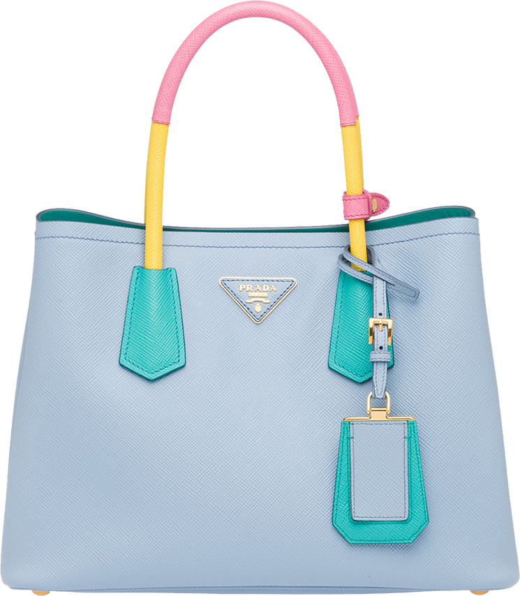 Prada Multicolor Double Bag