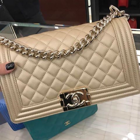 Boy Chanel Brown Quilted Bag