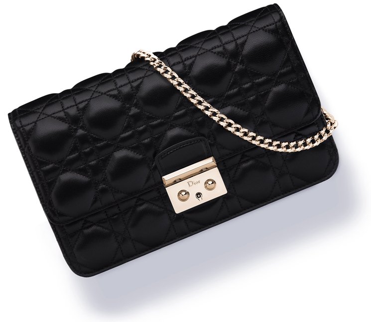 Miss Dior Replica Wallet On Chain Pouch