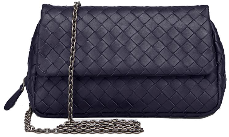 Bottega Veneta Intrecciato Nappa Messenger Bag Replica Online ... e6607a2c8702d